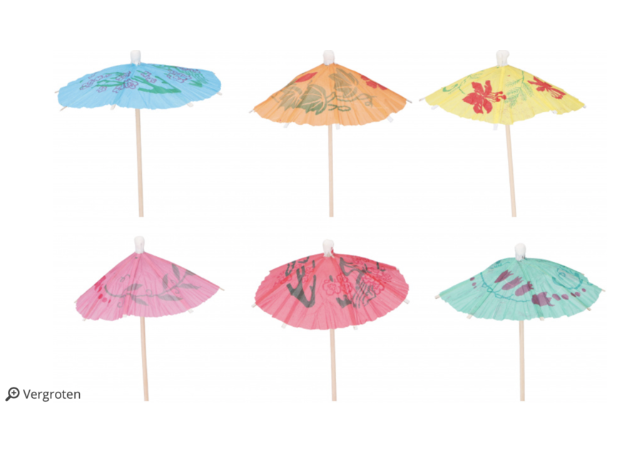 Paraplu prikkers pastel