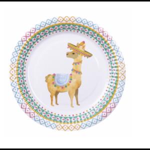 Lama borden multi kleur