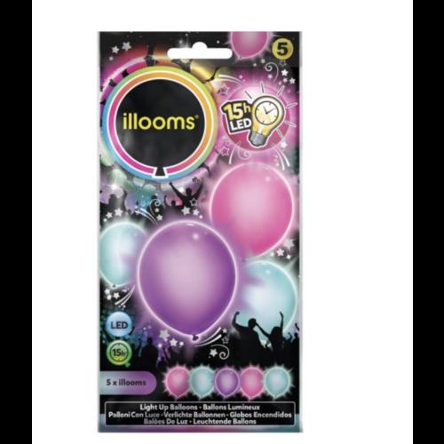 LED pastel ballonnen