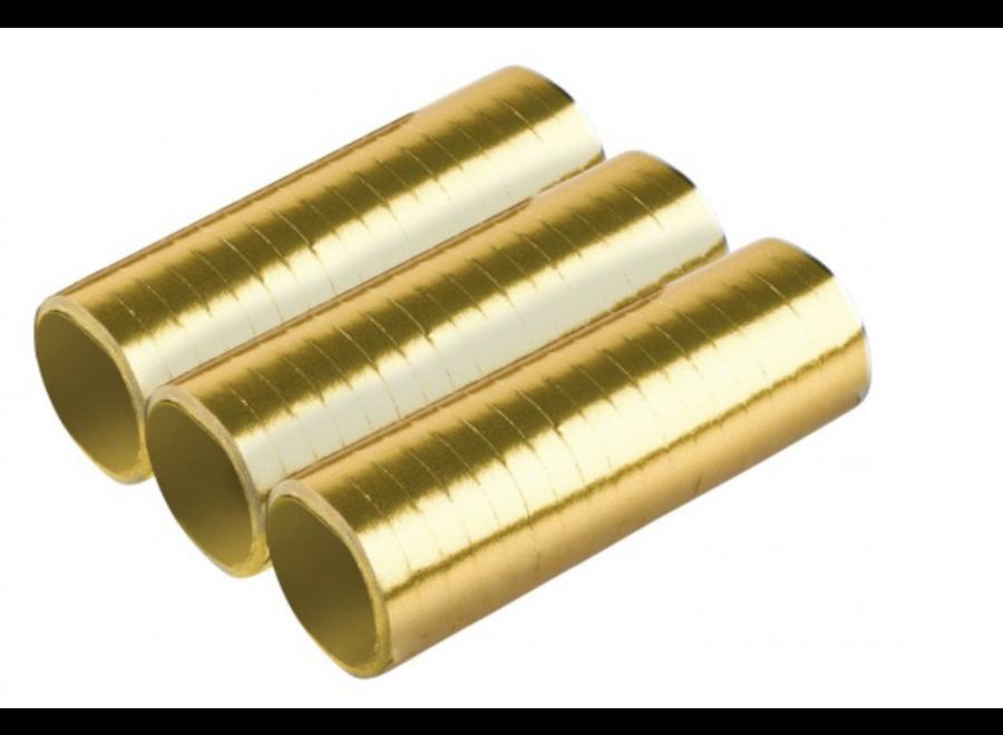 Streamers goud
