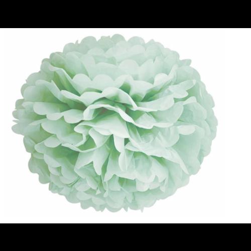 Pompoms mint groen