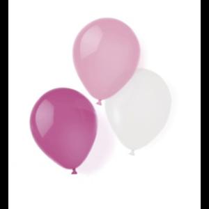Roze - wit ballonnen