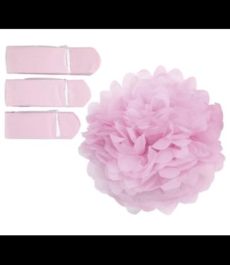 Pastel roze pompoms