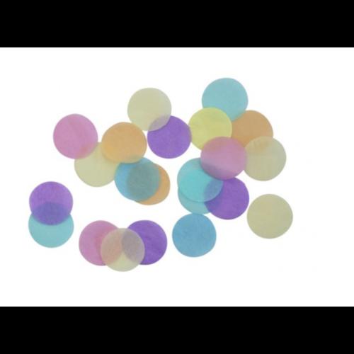 Confetti pastel regenboog