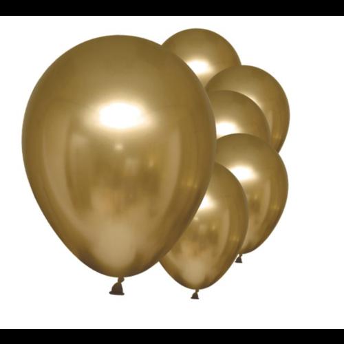 Metallic goud ballonnen chrome