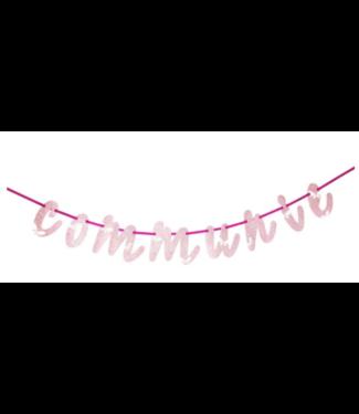 Communie slinger roze