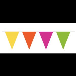 Neon vlaggenlijn