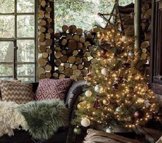 Kerst woon & feest decoratie