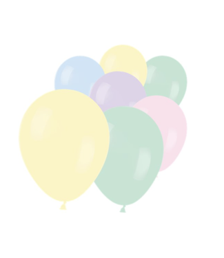 Pastel mat ballonnen mini