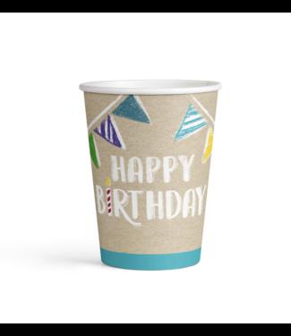 Amscan  Happy birthday bekers kraft