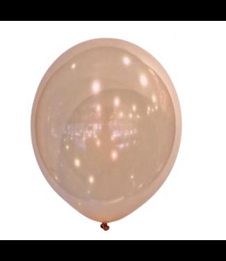 Metallic rosé goud ballonnen mini