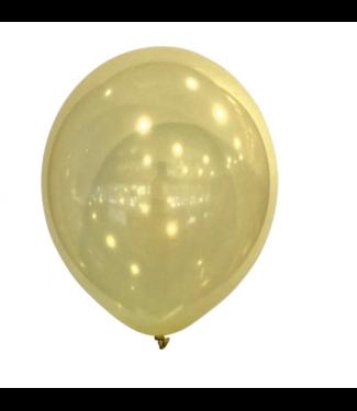 Amscan  Geel metallic ballonnen mini