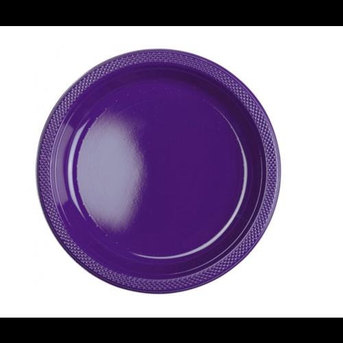 Gebaksborden donker paars