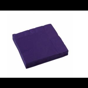 Donker paars servetten