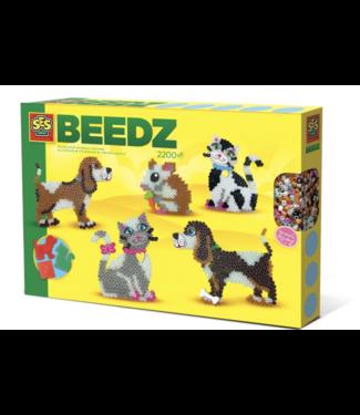 SES creative  Ses beedz strijkkralen huisdieren