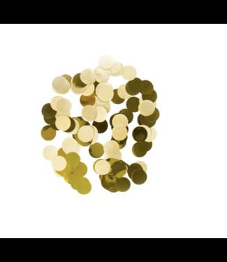 Folat  Confetti goud metallic