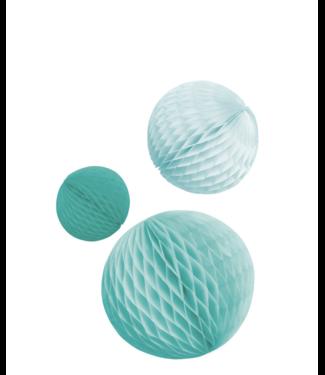 Amscan  Honeycomb set ijs blauw