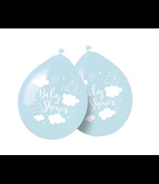 Folat  Babyshower ballonnen pastel blauw