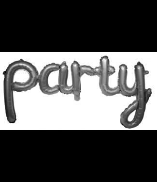 Folat  Party ballon zilver