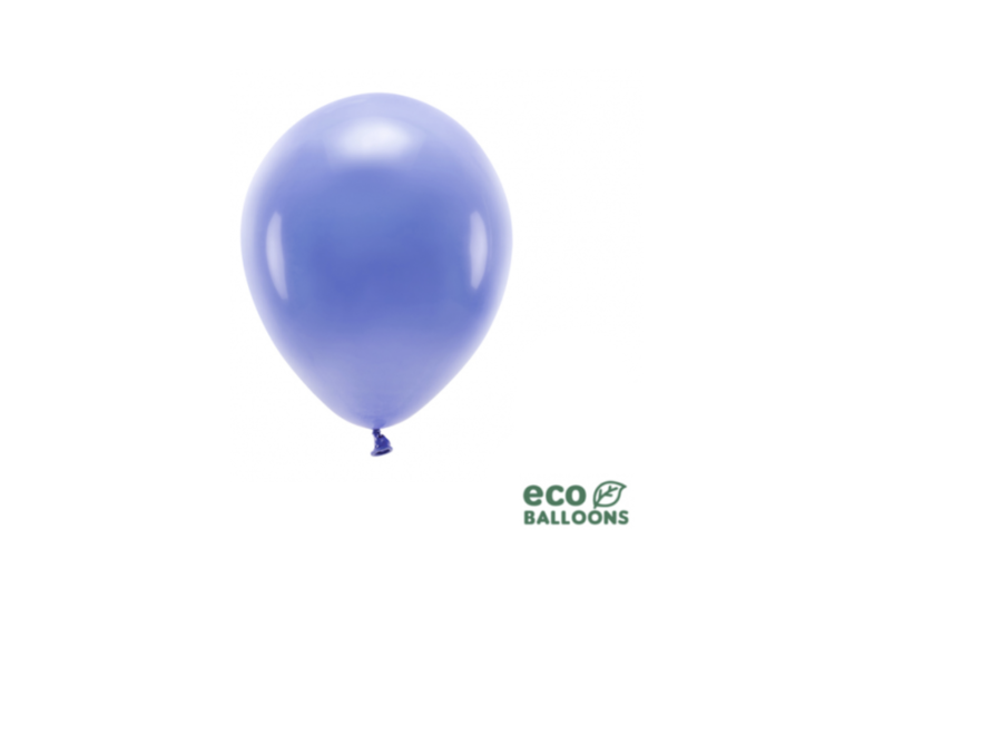 Ballonnen licht marine blauw eco