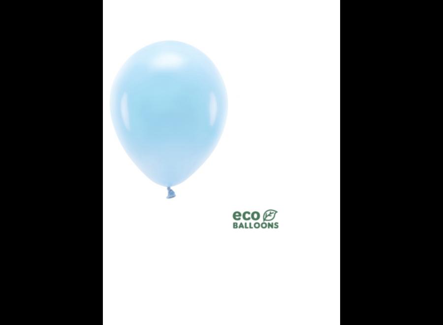 Ballonnen blush blauw