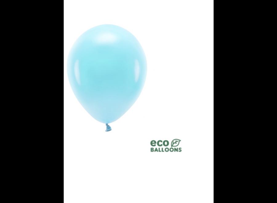 Ballonnen licht blauw blush
