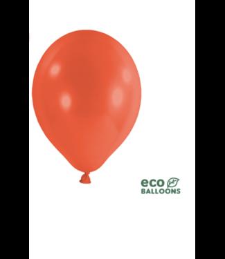 Partydeco Ballonnen koraal rood