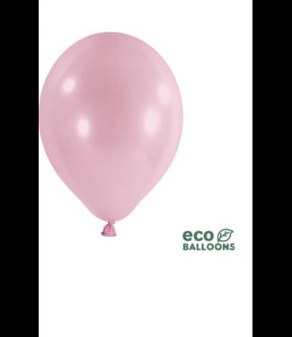 Partydeco Ballonnen Pearl roze XL eco