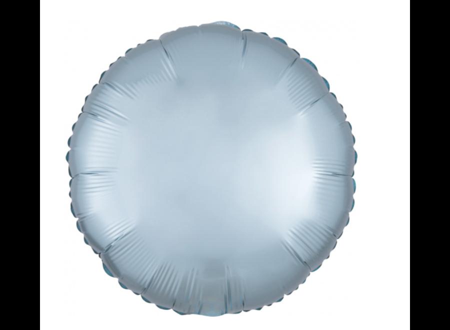 Mint blauw folie ballon