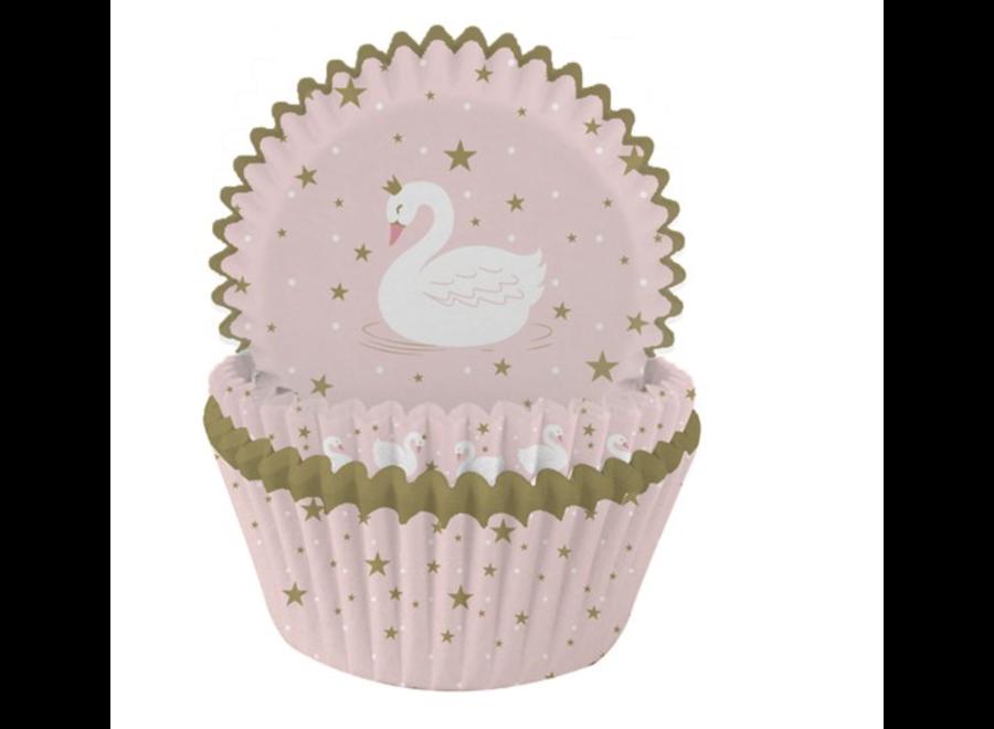 Zwaan cupcakes