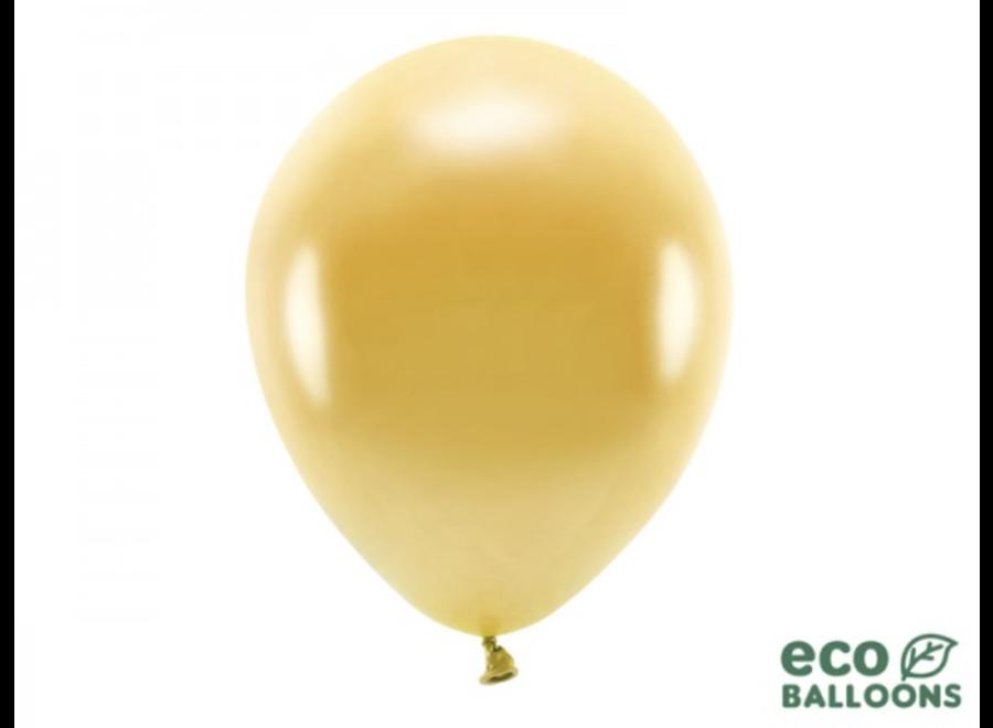 Ballonnen metallic goud