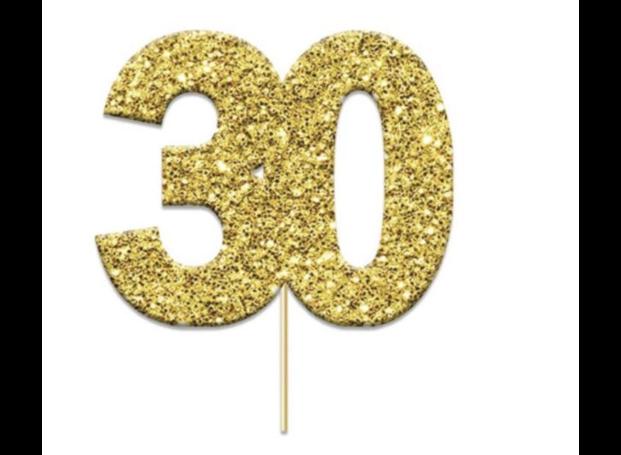 30 jaar toppers goud