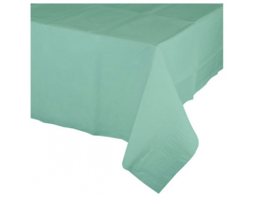 Mint groen tafelkleed