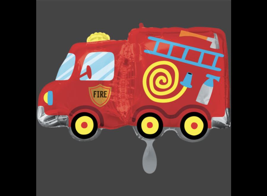 Brandweer ballon rood