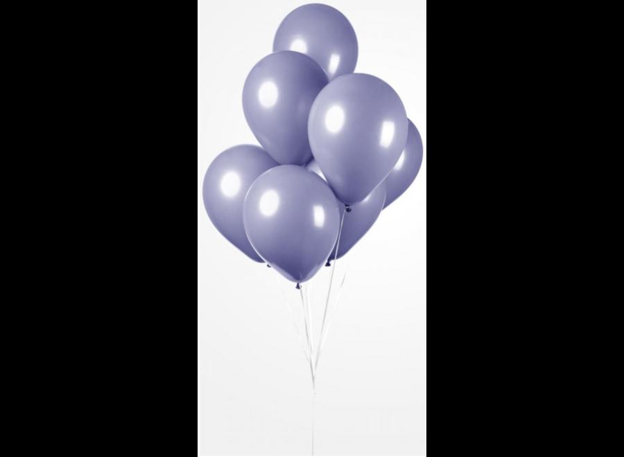 Ballonnen lila metallic 25