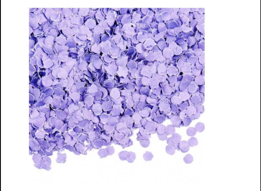 Lila confetti papier