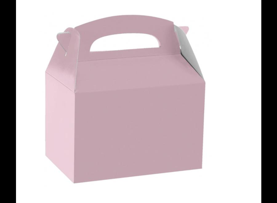 Traktatie box licht roze