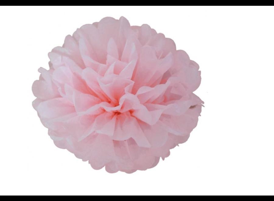 Pompom licht roze