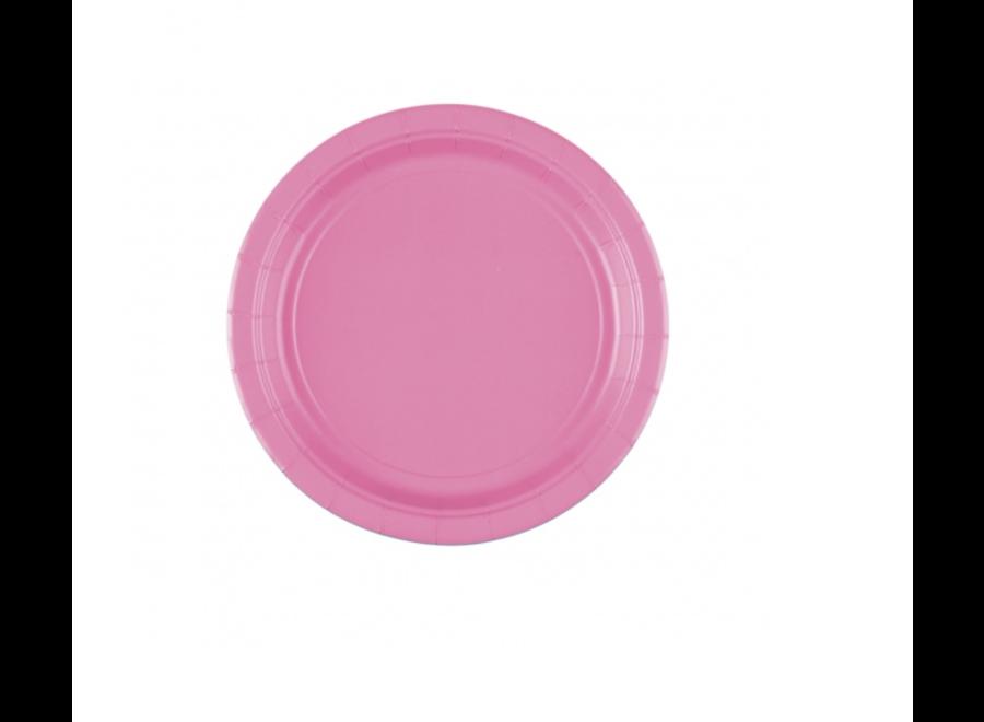 Gebaksborden roze
