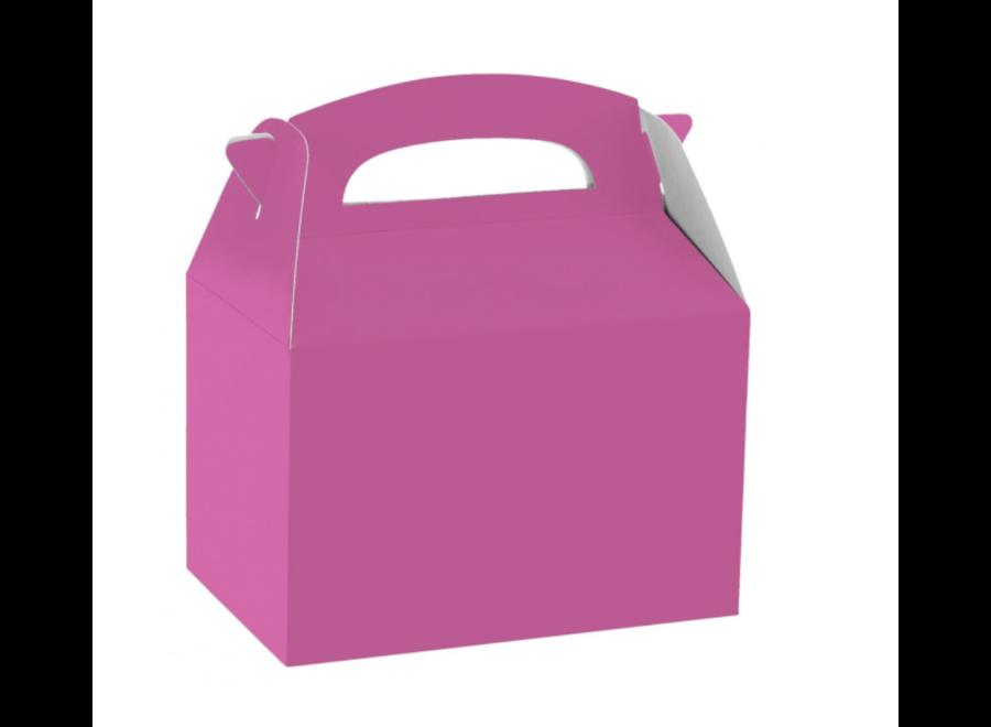 Traktatie box roze