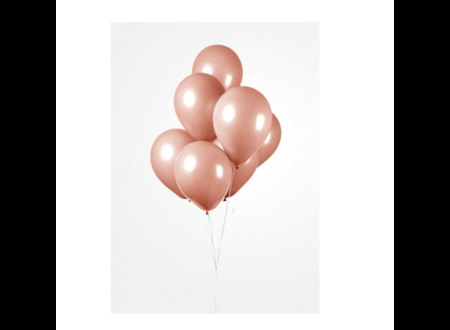 Ballonnen perzik 50 ST