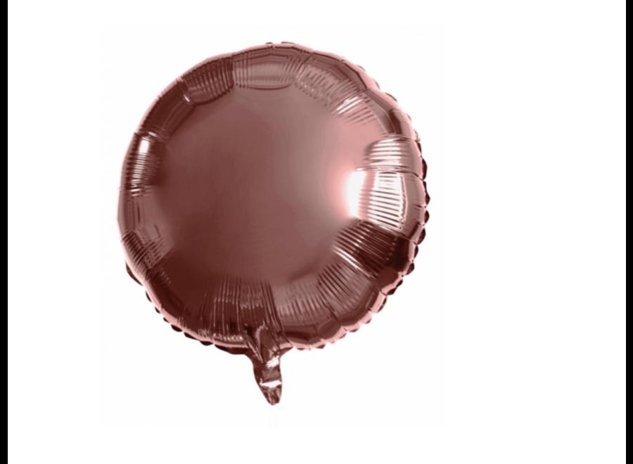 Folie ballon rond brons