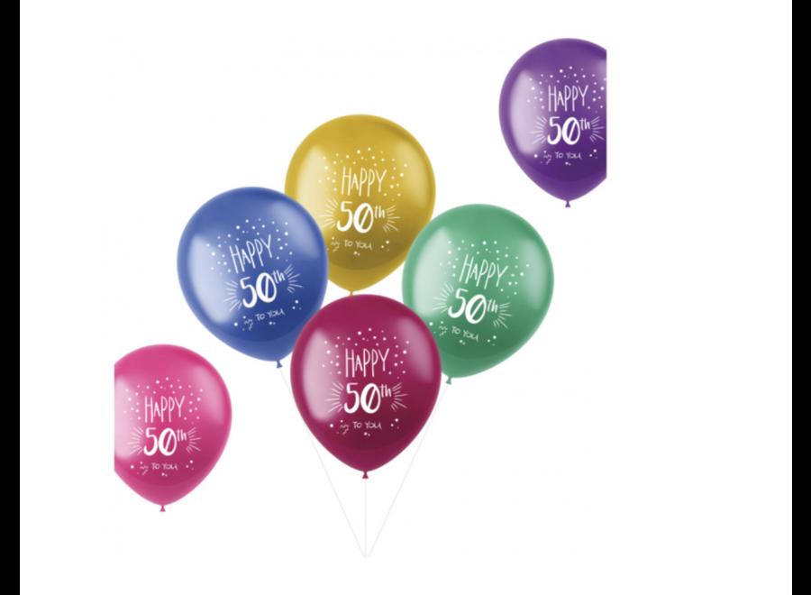 Happy 50 to you ballonnen