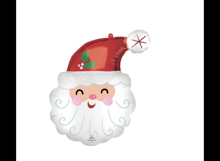 Kerstman XL ballon