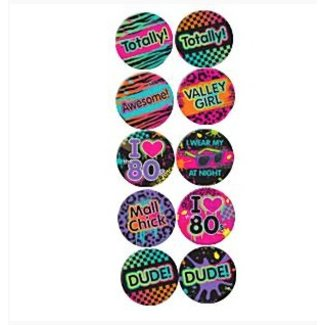 80's badges