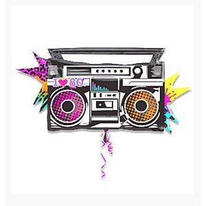 80's Jukebox folie ballon