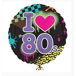 80's Folie ballon rond