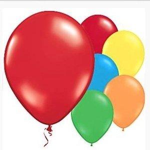 Ballonnen mix regenboog