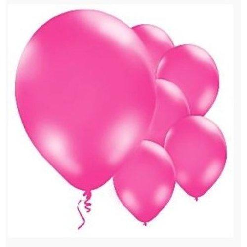 Ballonnen hard roze