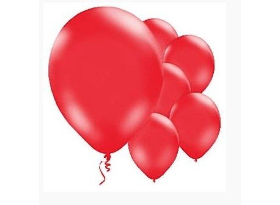 Ballonnen rood latex